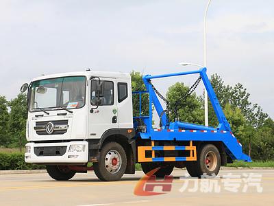 江苏徐州摆臂垃圾车销售价格,国六东风多利卡D9摆臂垃圾车优点图片
