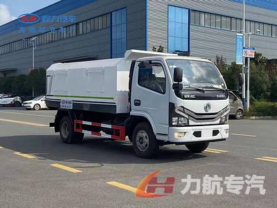浙江省东风小多利卡密封垃圾车厂家,密封式垃圾车主要用途图片