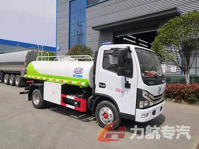 新疆阿克苏东风小多利卡5吨不锈钢运水车高清图片图片