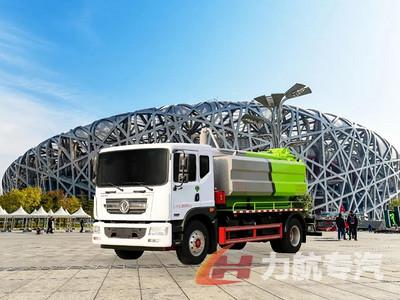 北京落户市政环卫车--东风D9国六9方清洗吸污车图片