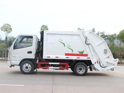 自贡蓝牌压缩垃圾车哪里有卖?
