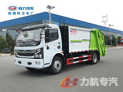 东风18吨压缩垃圾车操作视频