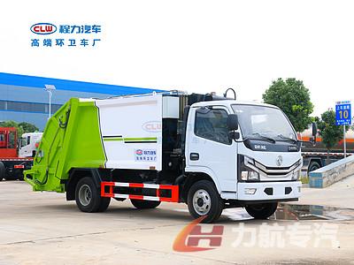 陕西西安用东风D6压缩垃圾车中转小区垃圾合适吗?