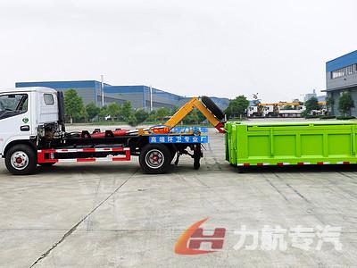 适合拉建筑垃圾的东风D6套臂垃圾车怎么样?