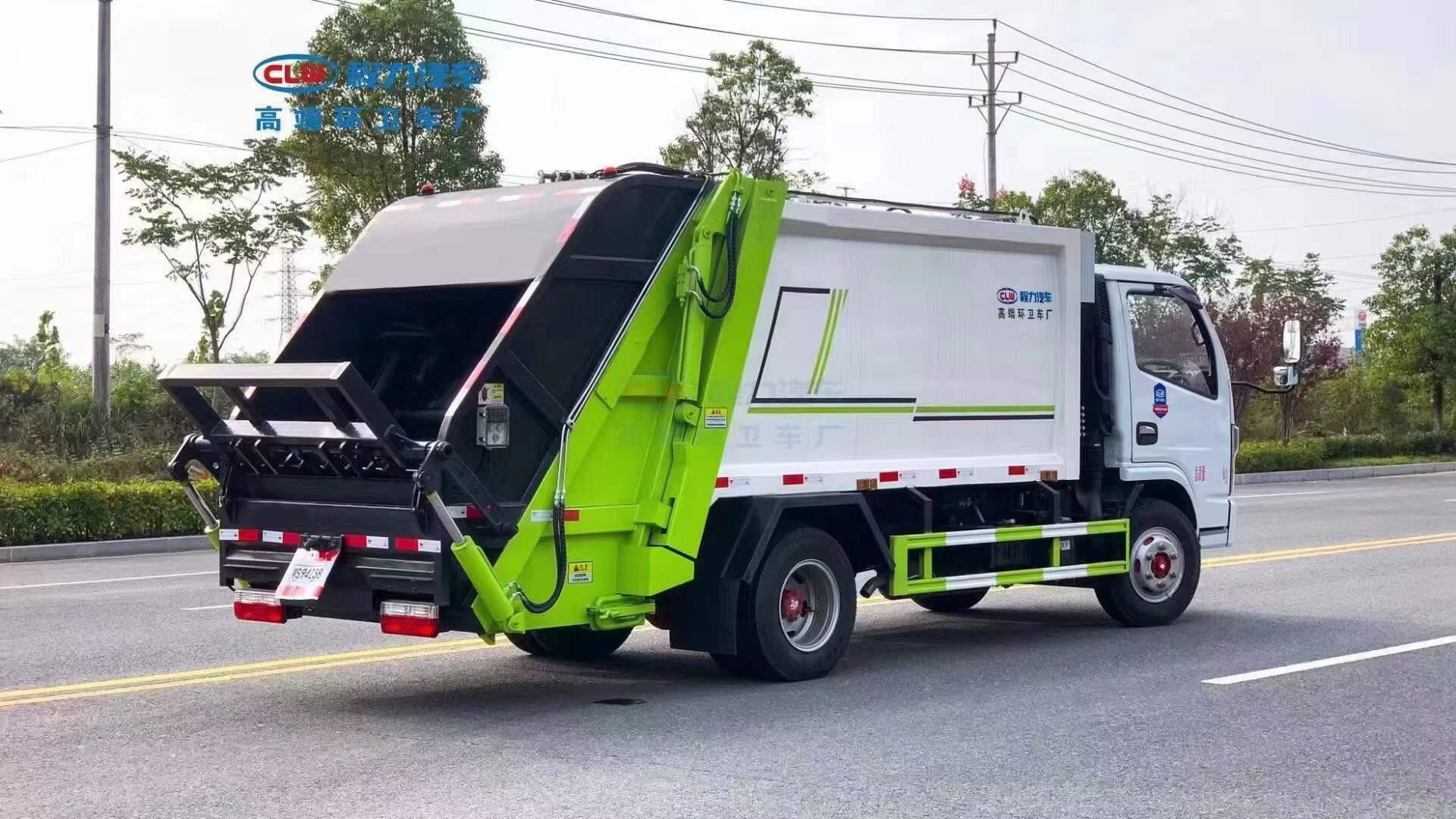 南京市国六东风6方压缩垃圾车多少钱一台?怎么找厂家购车?