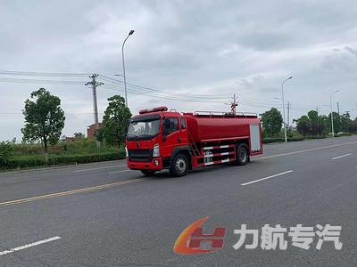 国六12吨消防洒水车现车价格图片