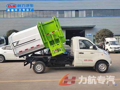 国六福田压缩垃圾车,勾臂垃圾车,餐厨垃圾车视频
