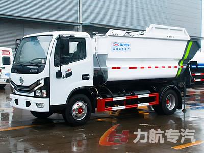 东风6.5方带遥控高位自卸垃圾车推荐视频