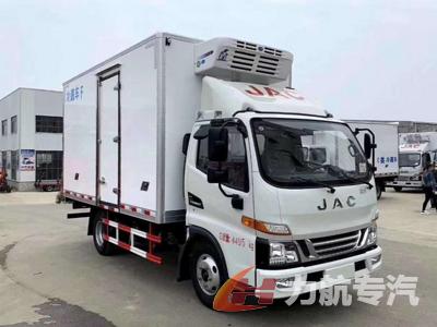 最新款国六江淮骏铃V5冷藏车图片