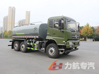 东风四驱12吨洒水车