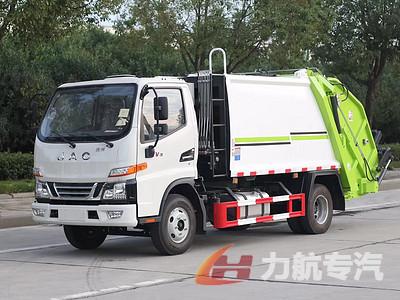 国六江淮骏铃V3,6方压缩垃圾车