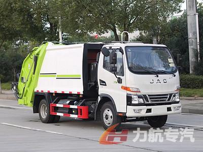国六江淮骏铃V3,6方压缩垃圾车图片